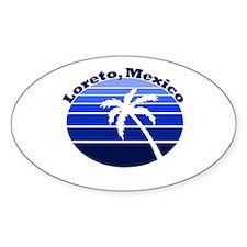 Loreto, Mexico Oval Decal