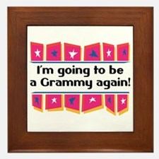 I'm Going to be a Grammy Again! Framed Tile