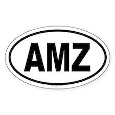 AMZ Oval Decal