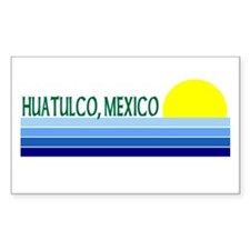 Huatulco, Mexico Rectangle Decal