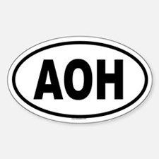 AOH Oval Decal