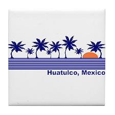 Huatulco, Mexico Tile Coaster