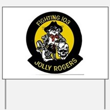 VF 103 Jolly Rogers Yard Sign