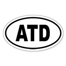 ATD Oval Decal