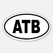 ATB Oval Decal