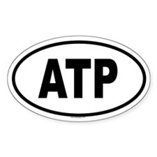 ATP Oval Decal