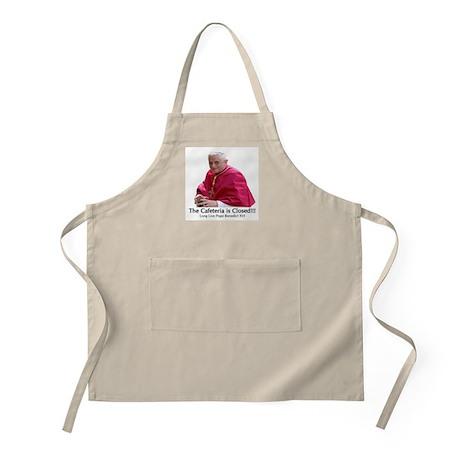 Pope Benedict XVI BBQ Apron