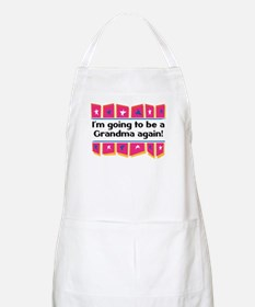 I'm Going to be a Grandma Again! BBQ Apron
