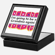 I'm Going to be a Grandma Again! Keepsake Box