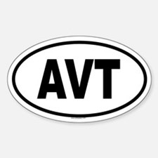 AVT Oval Decal