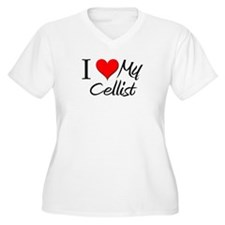 I Heart My Cellist T-Shirt