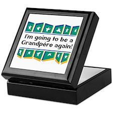 I'm Going to be a Grandpere Again! Keepsake Box