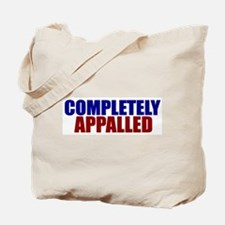 Completely Appalled Tote Bag
