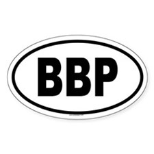 BBP Oval Decal
