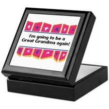Going to be a Great Grandma Again! Keepsake Box