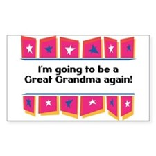 Going to be a Great Grandma Again! Decal
