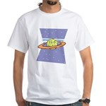 Planet Face White T-Shirt