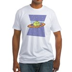 Planet Face Fitted T-Shirt