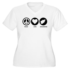 Peace Love Afghanistan T-Shirt