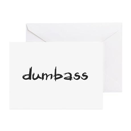 Dumbass Greeting Cards (Pk of 10)