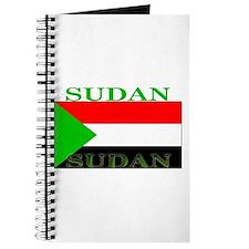 Sudan Sudanese Flag Journal