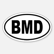BMD Oval Decal