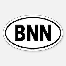 BNN Oval Decal