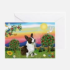 Bright Country / Corgi (c) Greeting Card