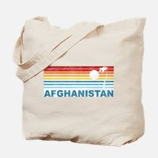 Palm Tree Afghanistan Tote Bag