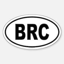 BRC Oval Bumper Stickers