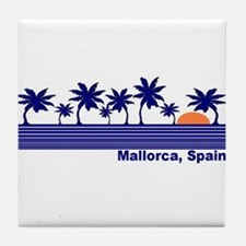 Mallorca, Spain Tile Coaster