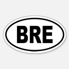 BRE Oval Decal