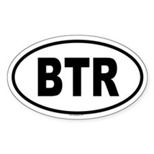 BTR Oval Decal