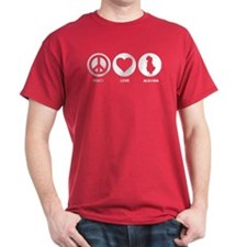 Peace Love Albania T-Shirt