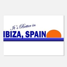 Its Better in Ibiza, Spain Postcards (Package of 8