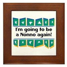 I'm Going to be a Nonno Again! Framed Tile
