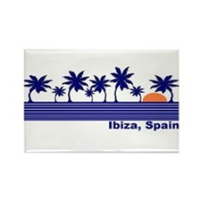 Ibiza, Spain Rectangle Magnet