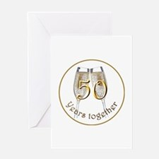50th Anniversary Greeting Card