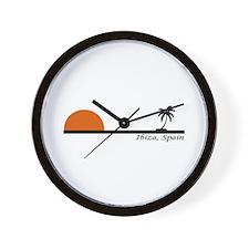 Ibiza, Spain Wall Clock