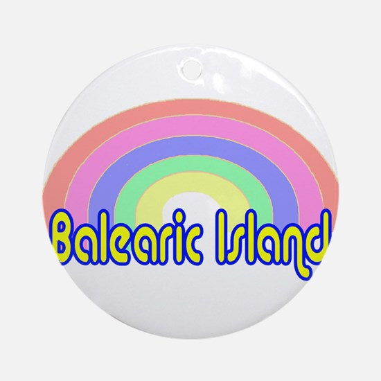 Balearic Islands Ornament (Round)