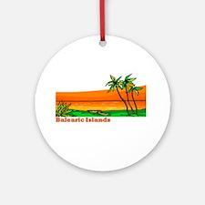 Balearic Islands Ornament (Round)
