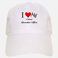 I Heart My Careers Information Officer Baseball Baseball Cap