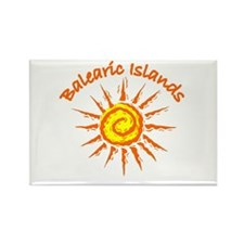 Balearic Islands Rectangle Magnet