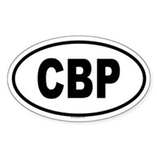 CBP Oval Decal