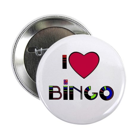 I LOVE BINGO BUTTON