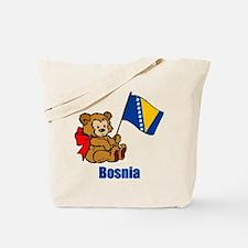 Bosnia Teddy Bear Tote Bag
