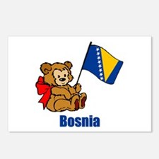 Bosnia Teddy Bear Postcards (Package of 8)