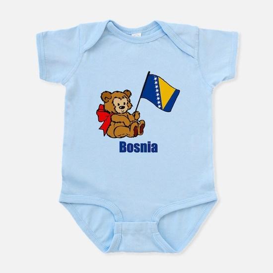 Bosnia Teddy Bear Infant Bodysuit