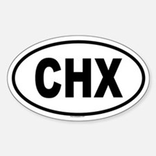 CHX Oval Decal