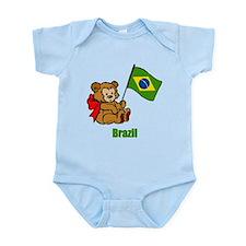 Brazil Teddy Bear Onesie